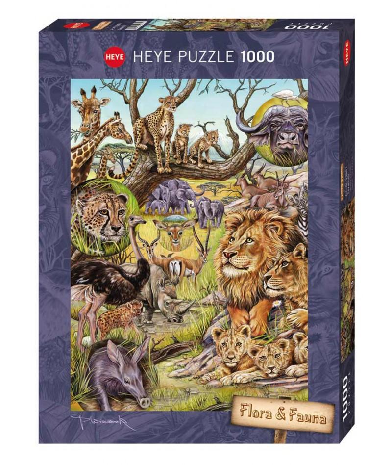 Heye Puzzle Flora e Fauna...