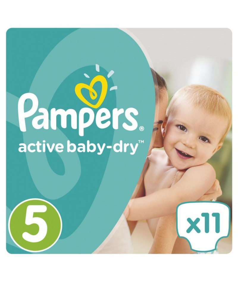 Pampers Active Baby Dry 5+...