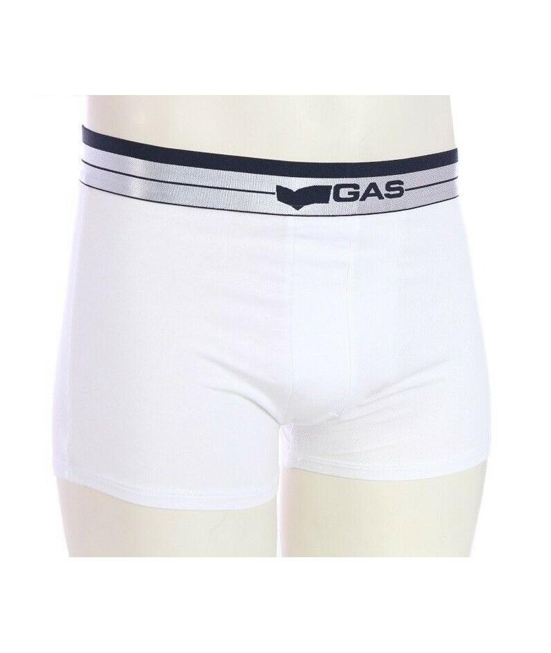 Gas Underwear Boxer Bianco...