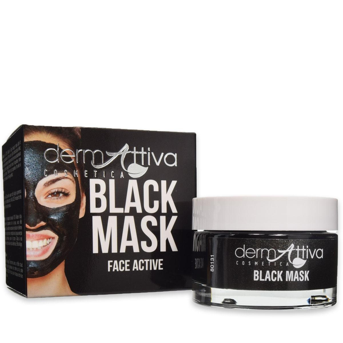 Dermattiva Black Mask Face Active 50ml