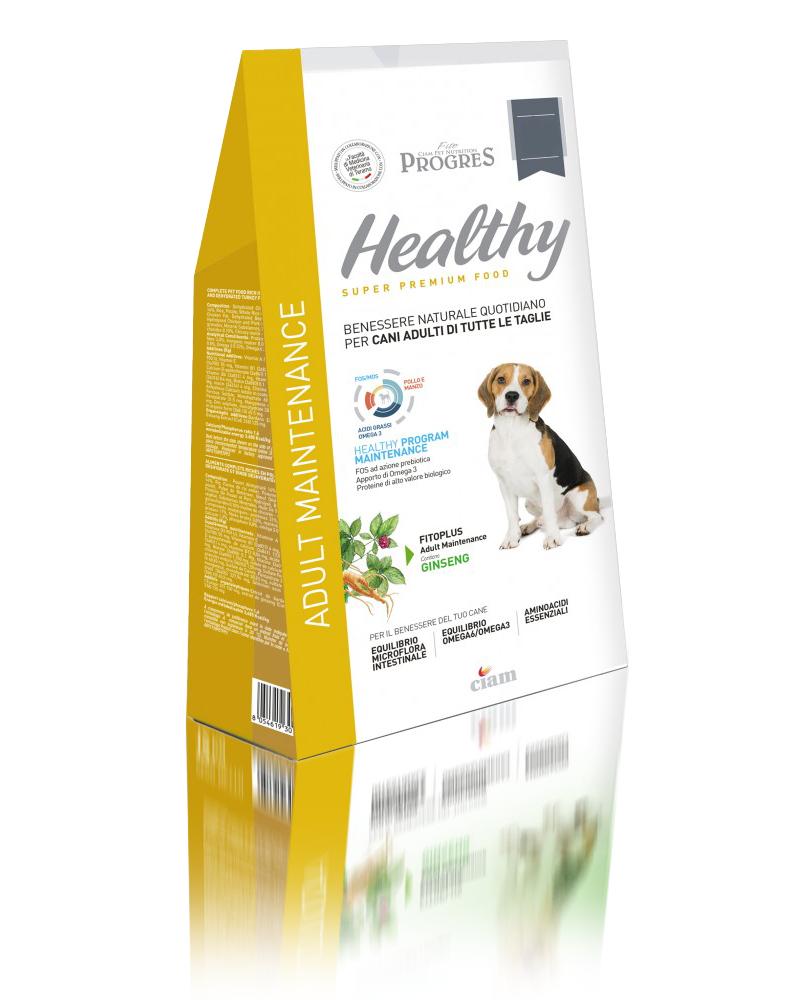 Fito Progres Healthy Maintenance Mangime Per Cani al Pollo e Tacchino 3kg