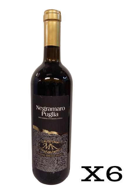 Mastro Angelo Maria Negroamaro Rosso - 6 Bottiglie da 75cl