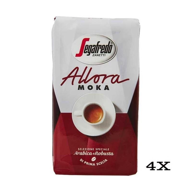 Segafredo Allora Moka Caffè 4x250g