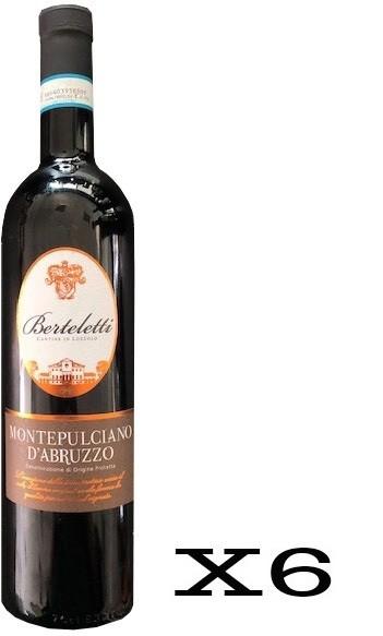 Berteletti Montepulciano D'Abruzzo DOC - 6 Bottiglie da 75cl