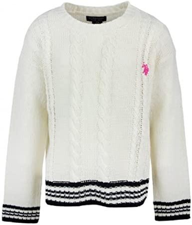 U.S. Polo Assn. Maglione Bambino Bianco