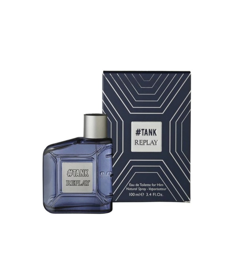 Replay Tank EDT for Him 100ml