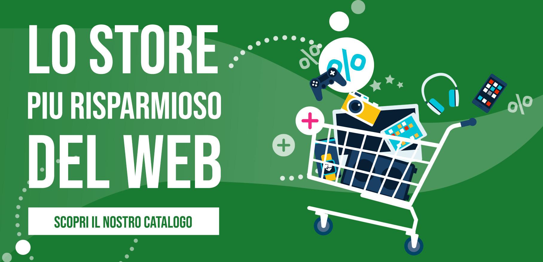 Lo store più risparmioso del web